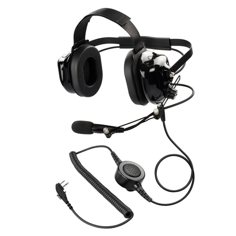 Maxtop PARENT-AHDH0032-H4 Two Way Radio Noise Cancelling Headset