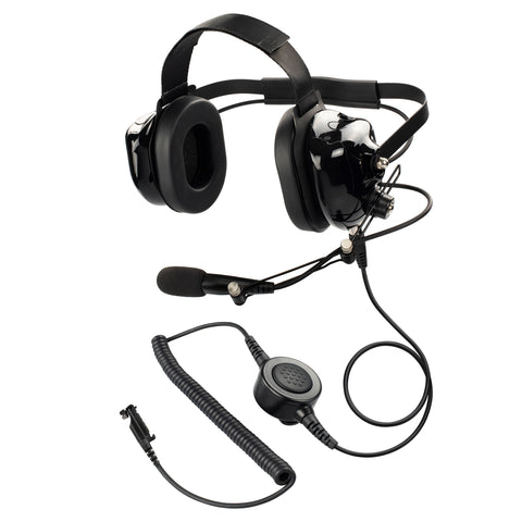 Maxtop PARENT-AHDH0032-H6 Two Way Radio Noise Cancelling Headset