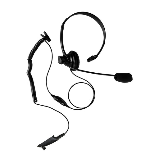 Maxtop AHDH1000-M5 Two Way Radio Over Head Headset Boom Mic for Motorola HT750 HT1250 GP328 GP329 PRO7150