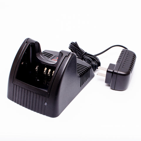 ArrowMax AK1R0025-120 KSC-25 Battery Rapid Charger for Kenwood TK-2160 TK-3160 TK-2170 TK-3170 TK-2360 TK-3360 NX-220