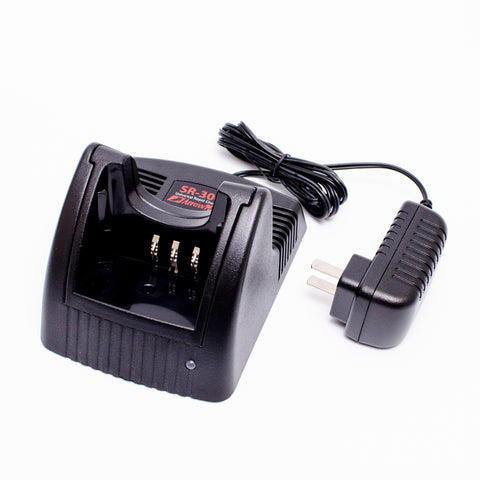 Maxtop AK1R0031-120-V2 KSC-35 Rapid Charger for Kenwood KNB-45 KNB-45L KNB-45Li TK-3212M TK-3300UP TK-3301E