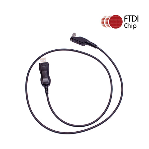 Maxtop APCUSB-IR966 FTDI USB Programming Cable for ICOM IC-F3061 IC-F3062SN IC-F3062TN IC-F30GS IC-F30GT as OPC-966