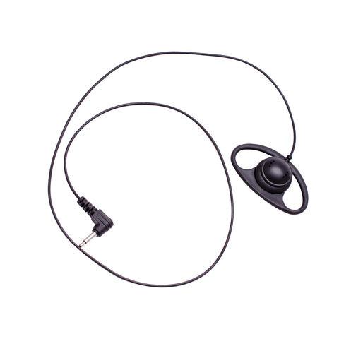 Maxtop ARP07-35L D-Sharp Earhanger Receiving Only Earphone with 3.5mm Plug for Speaker Microphone