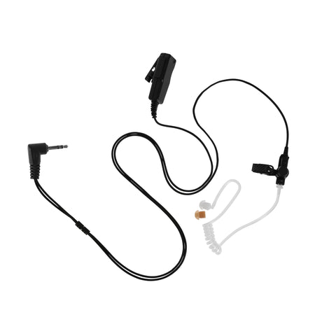 Maxtop ASK4032-H2 2 Wire Clear Tube Earpiece