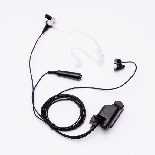 Maxtop ASK6038-M7 3-Wire Clear Coil Surveillance Kit Earphone for Motorola MTS2000 HT-1000 XTS-2500 XTS-3000 XTS-3500