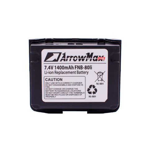 ArrowMax AVCL0080-1400-D Radio Battery