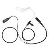 BOMMEOW BCT22PRO-S2 Logo Limited Edition High Quality 2-Wire Surveillance Kit FBI Style Earpiece for Sepura