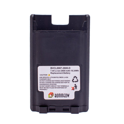 Bommeow BVCL0087-2600-D Replacement Battery