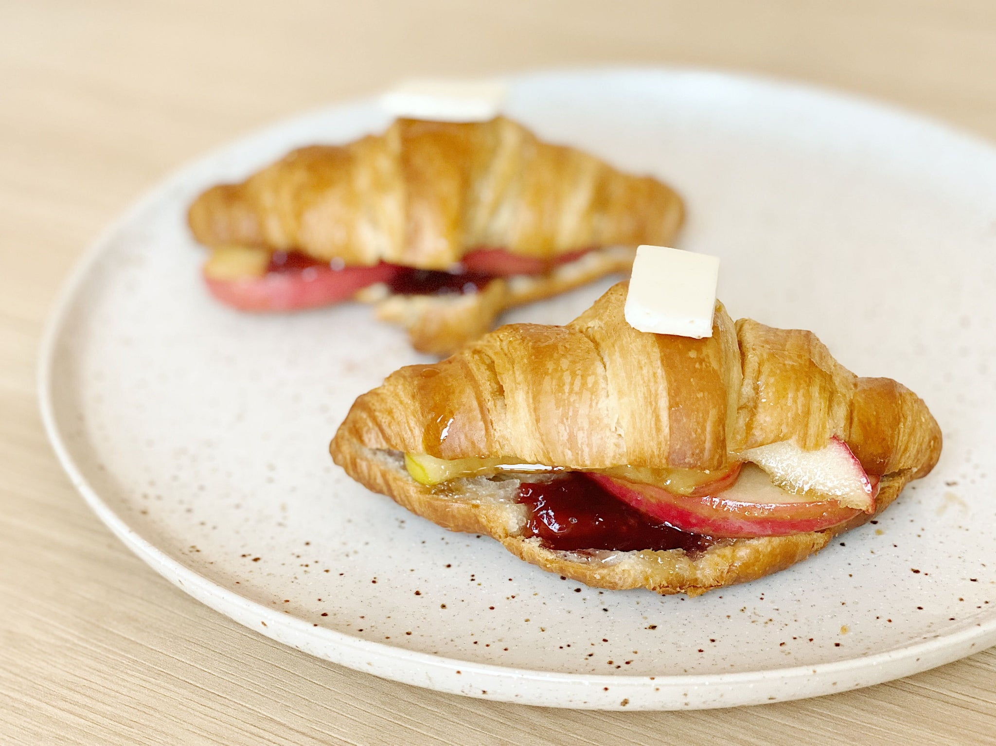 "Apple-Strawberry ""Galettes"""