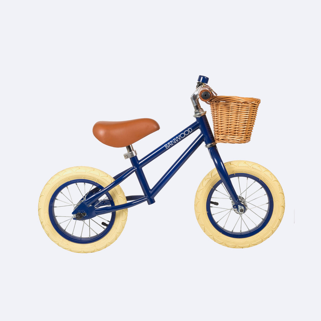 First-Go Balance Bike - Navy - Bike - Banwood | ModernMinor