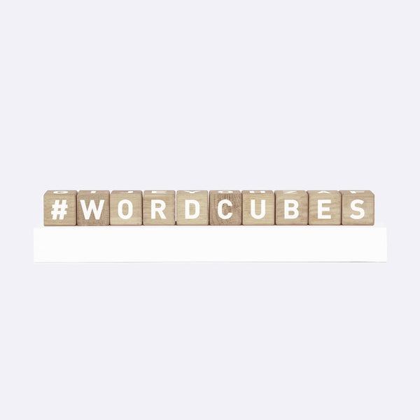 Word Cubes - Wooden Toy - Maison Deux | ModernMinor