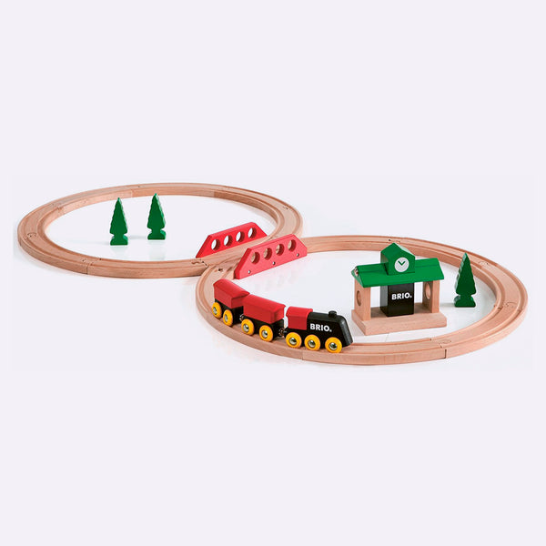 Classic Figure 8 Wooden Train Set - Wooden Toy - BRIO | ModernMinor