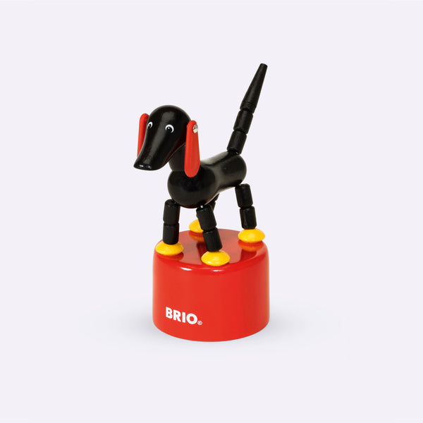 Classic Wooden Sampo Push Button Toy - Wooden Toy - BRIO | ModernMinor