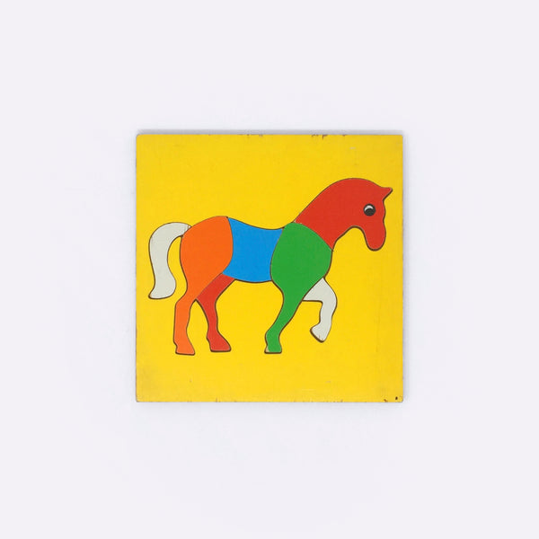 Horse Puzzle (1970s) - Puzzle - W.R Kelly | ModernMinor
