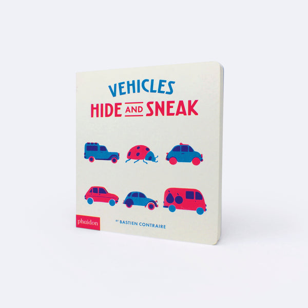 Vehicles Hide and Seek - Book - Bastien Contraire | ModernMinor