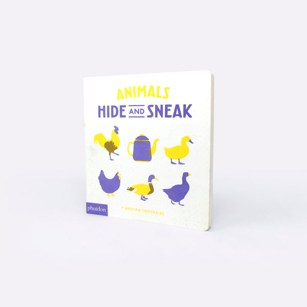 Animals Hide and Seek - Book - Bastien Contraire | ModernMinor
