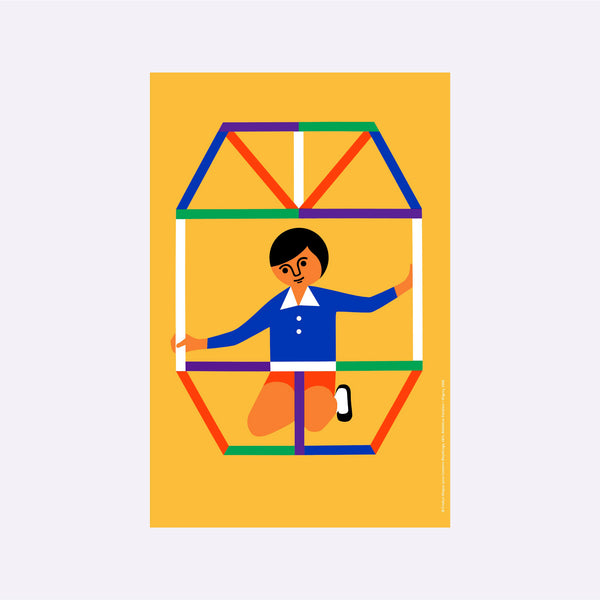 Fredun Shapur Poster – Construction Play - Poster - Pic Poq x Fotokino | ModernMinor