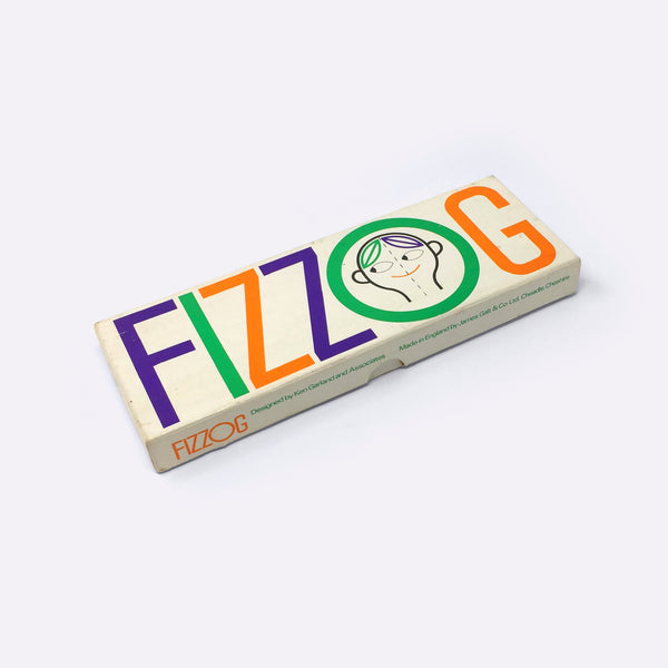 Vintage Fizzog Board Game