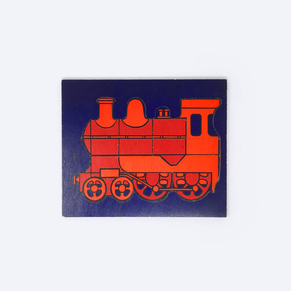 Train Puzzle (1970s) - Puzzle - Galt | ModernMinor
