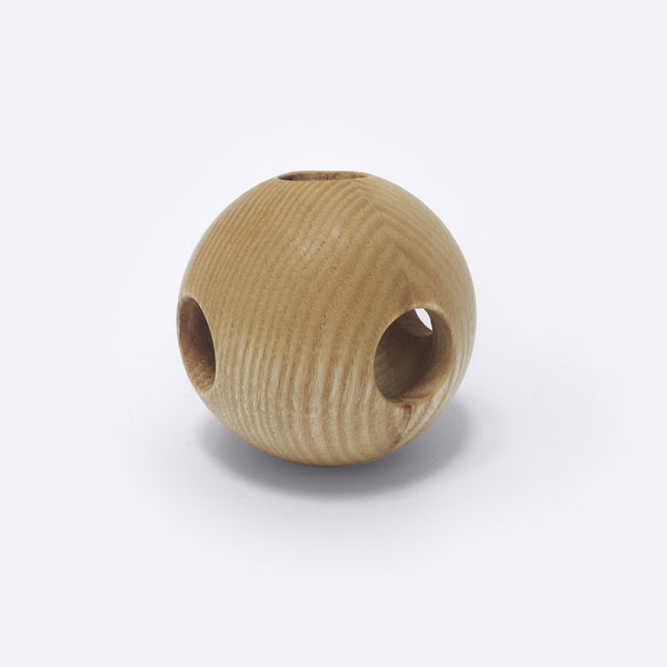 Wooden Baby Rattle - Kugelball - Rattle - Hohenfried | ModernMinor