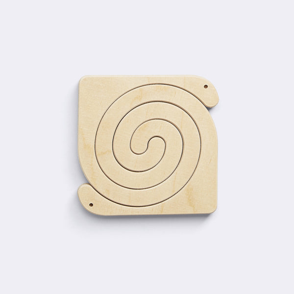 Two-piece Puzzle – Snake - Wooden Toy - Medio Design | ModernMinor