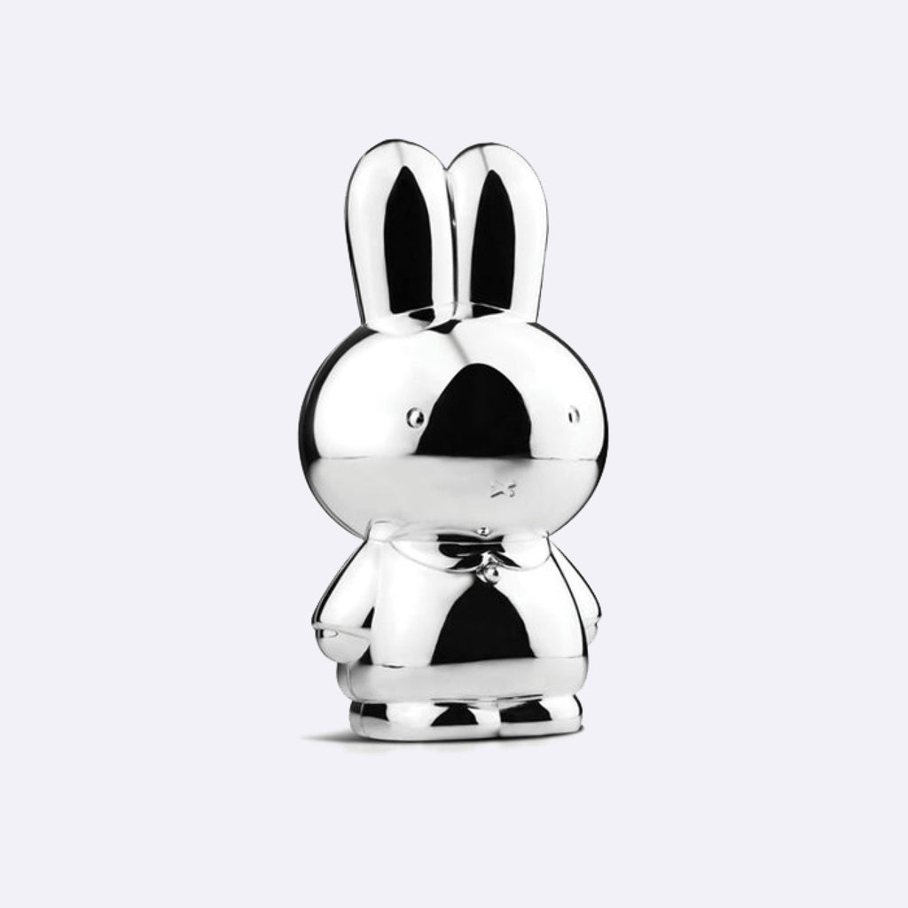 Silver-plated Miffy Money box – XL - Money Box - Zilverstadt | ModernMinor