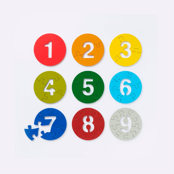 Count & Learn Puzzle (2011) - Puzzle - Muji | ModernMinor
