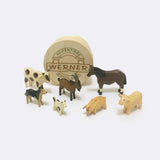 Hand Carved Wooden Animals - Wooden Toy - Christian Werner | ModernMinor