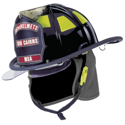 Fire Force - Cairns 1010 Traditional Fire Helmet with Bourke