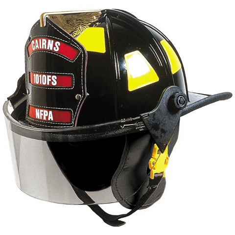 Fire Force - Cairns 1010 Traditional Fire Helmet with TuffShield