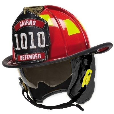 Fire Force - Cairns Cairns 1010 Defender Fire Helmet Helmets