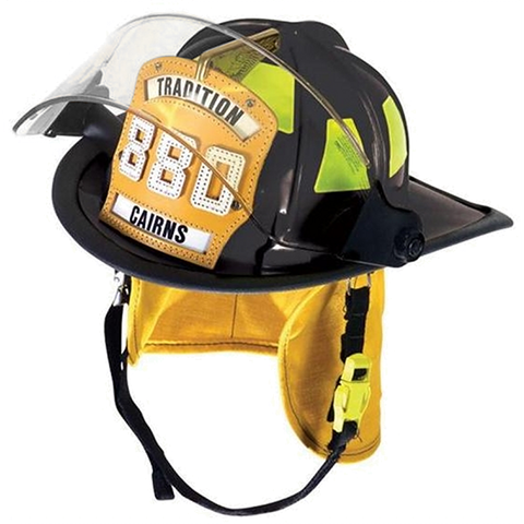Fire Force - Cairns 880 Traditional Helmet with Tuffshield