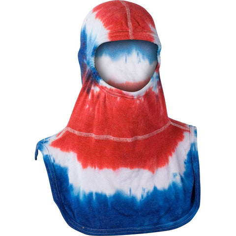 Fire Force - Majestic Fire Apparel Tie-Dye Red White & Blue Hood