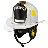 Fire Force - Cairns N6A Sam Houston -  Leather Fire Helmet With NFPA Compliant Bourke