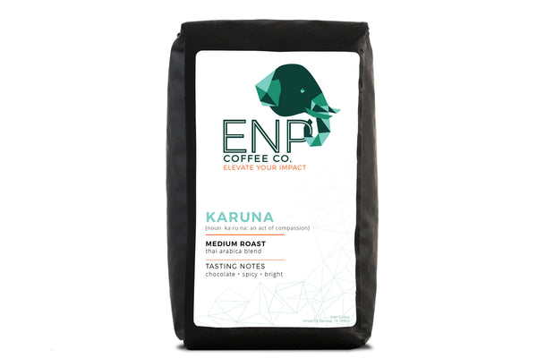 The Medium Roast Coffee That Supports Elephant Nature Park.