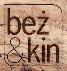Bez & Kin's Wood Lasered Logo