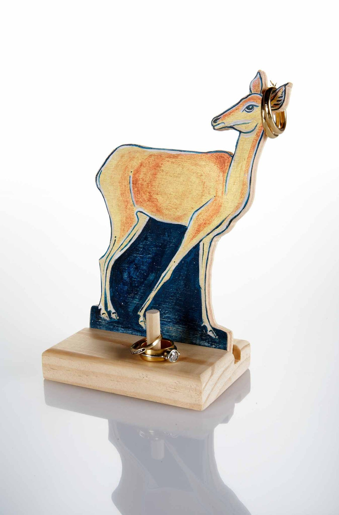 Doe a Deer_Standing type with jewelries