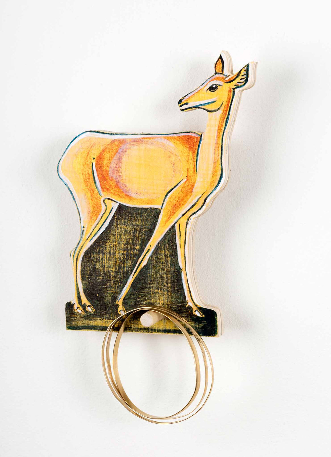 Doe a Deer_Hanging type with jewelries