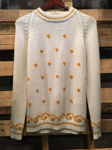 Vintage Classic Knit Pull Over Sweater
