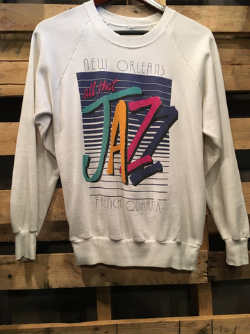 Vintage NOLA Crew Neck Sweater