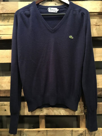 Vintage Navy Blue Lacoste Pull Over