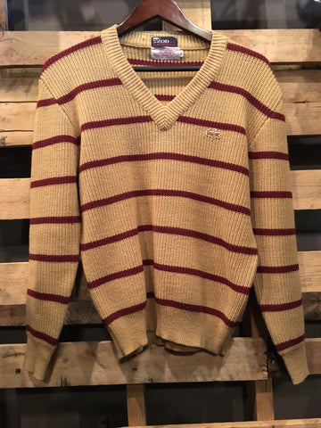 Vintage Izod Lacoste V-Neck Sweater