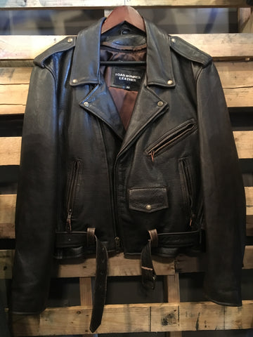 Vintage Road Runner Leather Jacket