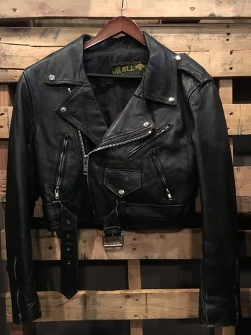 BLL Leather Moto Jacket