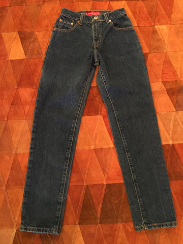 Distressed Levi's Size M