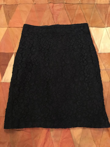 Shox Black Lace Skirt