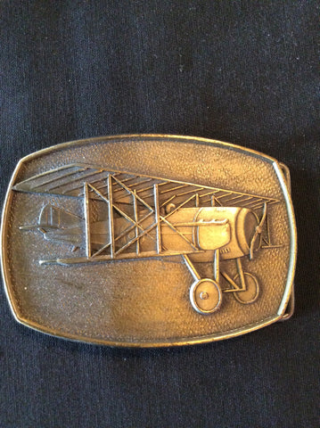 Vintage Aviation Belt Buckle