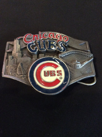 Vintage Chicago Cubs Belt Buckle
