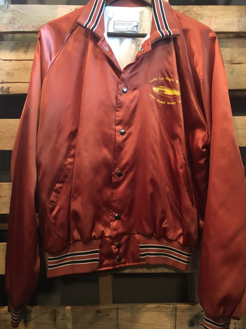 Vintage Burnt Orange Casino Jacket