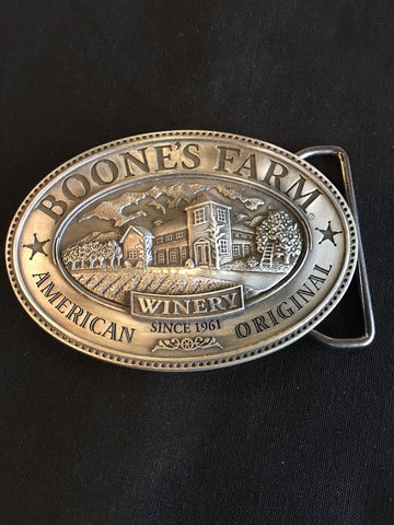 Vintage Boone's Farm Belt Buckle